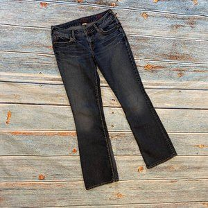 LAST CHANCE Silver Lael Boot Cut Jeans 29